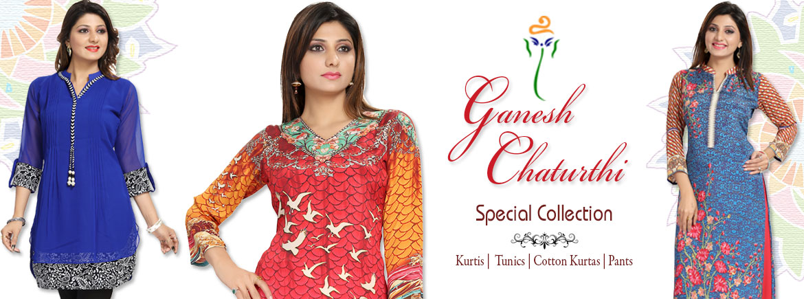 Ganesh Chathurthi Special Kurti Collection